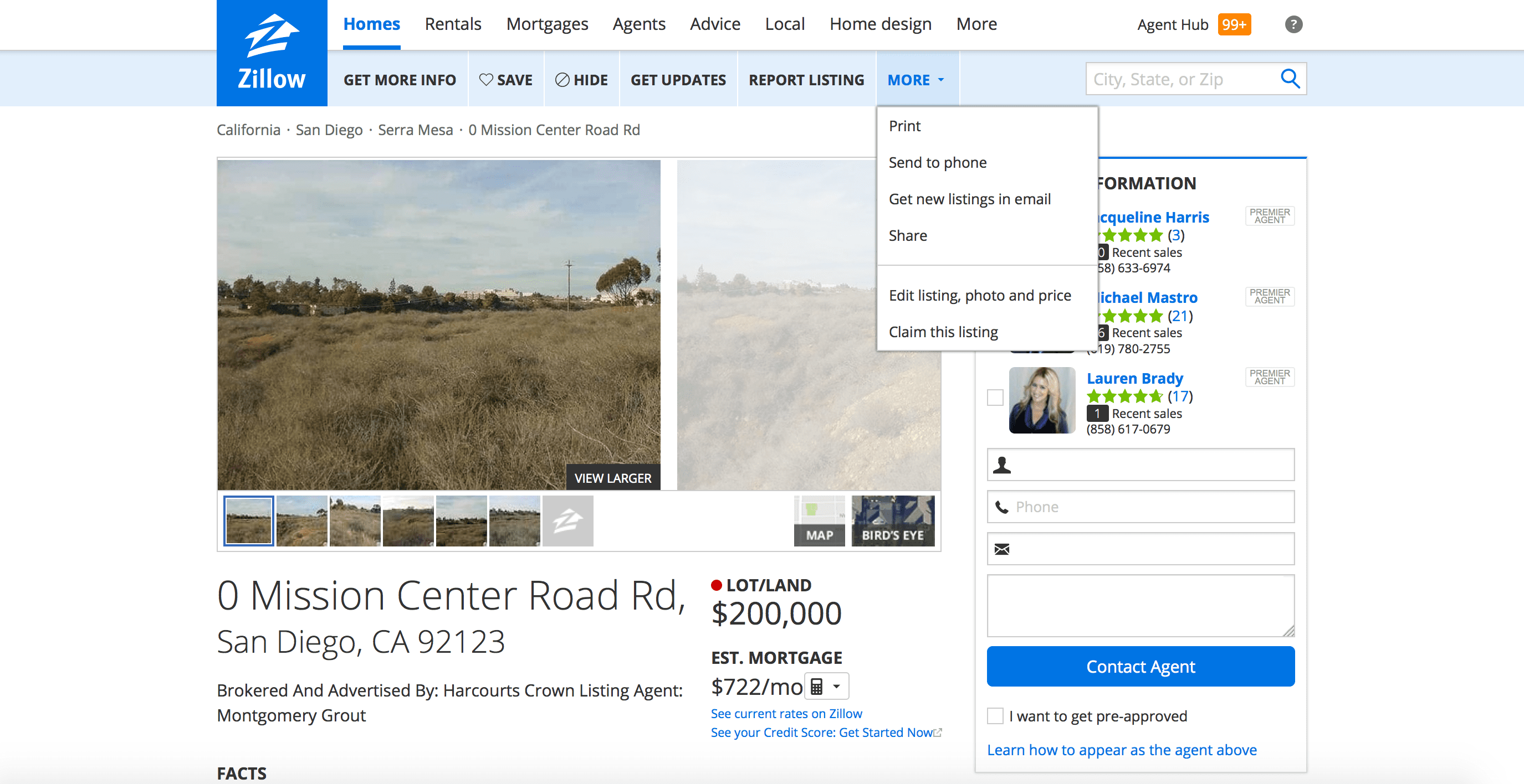, Understanding the Zillow Platform, Local Realtors